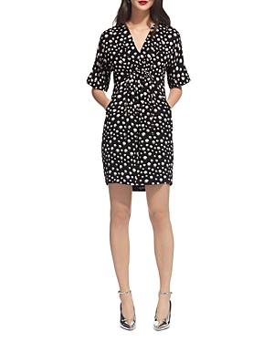 Whistles Frances Eclipse Print Dress