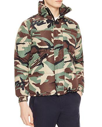4d808309 Sandro Snow Camo Jacket   Bloomingdale's