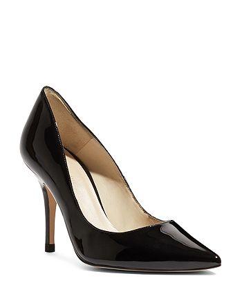 KAREN MILLEN - Women's Patent Leather High Heel Court Pumps