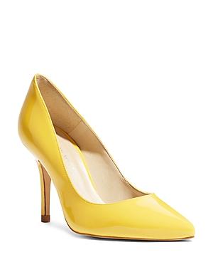 Karen Millen Women's Patent Leather High Heel Court Pumps