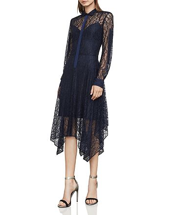 BCBGMAXAZRIA - Beatryce Lace Shirt Dress