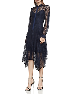 Bcbgmaxazria Beatryce Lace Shirt Dress
