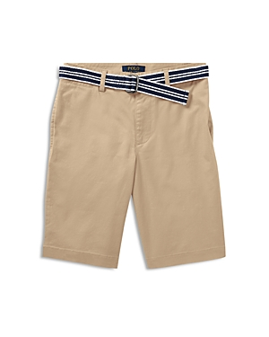 Polo Ralph Lauren Boys SlimFit Belted Stretch Shorts  Big Kid
