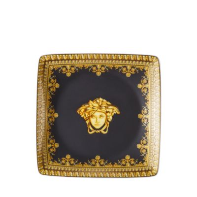 $Versace By Rosenthal I Love Baroque Nero Canape Dish - Bloomingdale's