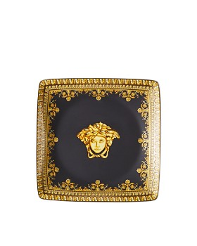 Versace By Rosenthal - I Love Baroque Nero Canape Dish