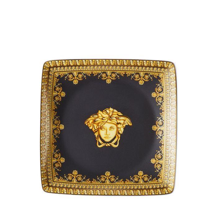 Versace - I Love Baroque Nero Canape Dish