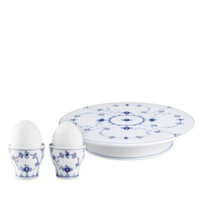 Blue Mega Oval Platter