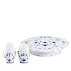 Royal Copenhagen - Blue Fluted Serveware