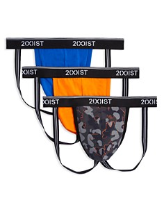 2(X)IST Cotton Stretch Jock Straps, Pack of 3 - Bloomingdale's_0