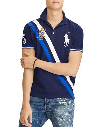 1ccc61585375 Polo Ralph Lauren - Custom Slim Fit Mesh Polo Shirt