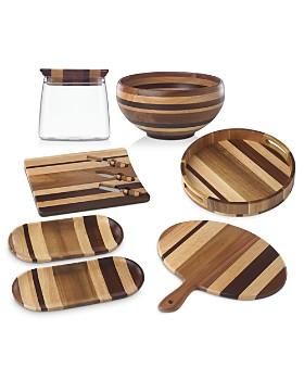 Dansk - Signy Striped Wood Serveware - 100% Exclusive