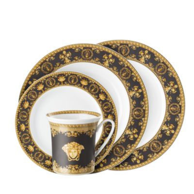 By Rosenthal I Love Baroque Nero Canape Dish