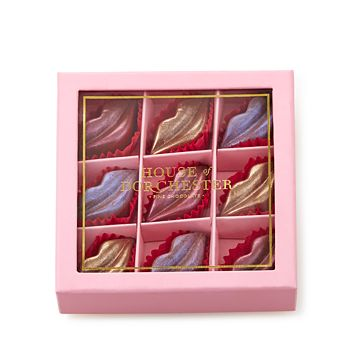 House of Dorchester - 9-Piece Luster Lips Chocolate Gift Box