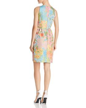 Boutique Moschino - Floral Jacquard Sheath Dress