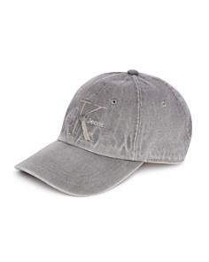 Calvin Klein Gray Denim Logo Hat - Bloomingdale's_0