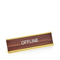 He Said She Said Offline Nameplate - 100% Exclusive - Bloomingdale's_0