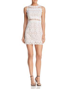 Aqua Lace Illusion Mini Dress - 100% Exclusive 2856928