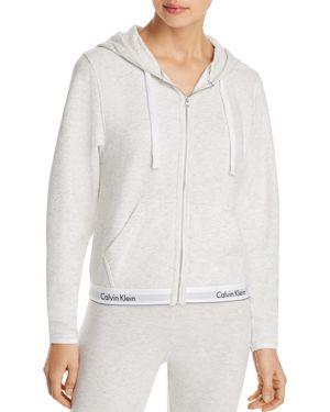 Calvin Klein Modern Cotton Lounge Zip-Up Hoodie