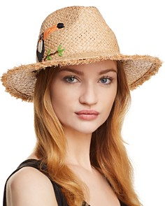 Echo Excursion Embroidered Panama Hat - Bloomingdale's_0