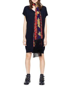 Zadig & Voltaire Rifle Merino-Wool Dress