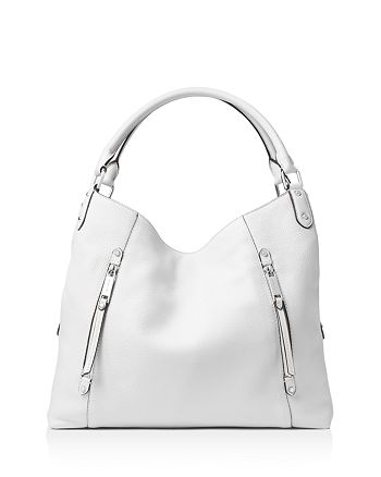 c57a11d43d07 MICHAEL Michael Kors Evie Large Leather Shoulder Tote | Bloomingdale's
