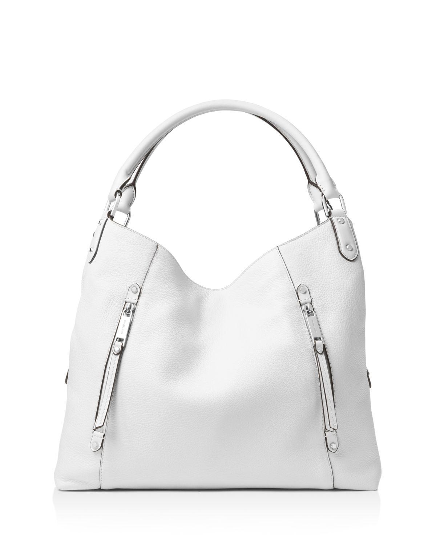 Michael Kors Evie Large Leather Hobo Bag zl4yO