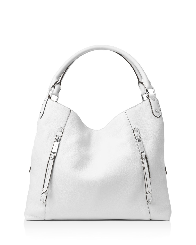 Michael Kors Evie Large Leather Hobo Bag