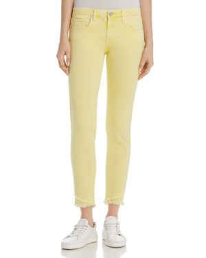 Blanknyc Frayed Ankle Skinny Jeans in Yellow - 100% Exclusive 2907346