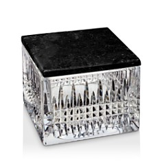 Waterford Lismore Diamond Covered Box with Marble Lid - Bloomingdale's Registry_0