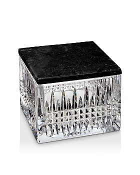 Waterford - Lismore Diamond Covered Box with Marble Lid
