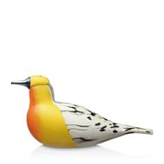 Iittala - Birds by Toikka Blackburnian Warbler Statuette