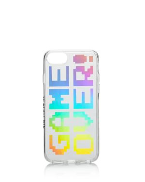 SKINNYDIP LONDON Game Over Printed Iphone 7/8 Case - 100% Exclusive in Silver Multi