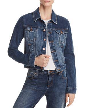 Eileen Fisher Cropped Denim Jacket