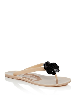 kate spade new york Women's Fiorina Floral Flip-Flops