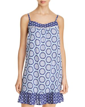 JANE & BLEECKER NEW YORK BLOSSOM GEO CHEMISE