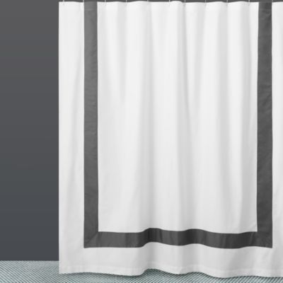 $Hudson Park Collection Border Shower Curtain - 100% Exclusive - Bloomingdale's