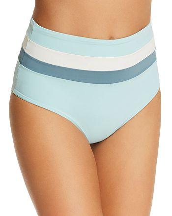 L*Space - Portia Stripe Bikini Bottom