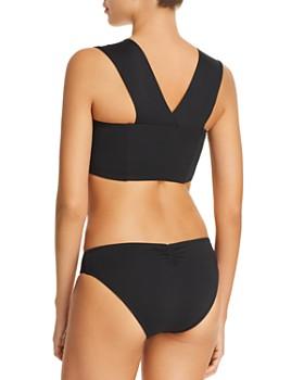 L*Space - Parker Convertible Bikini Top & Sweet & Chic Monique Full Bikini Bottom