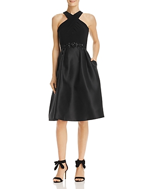 Adrianna Papell Embellished Party Dress