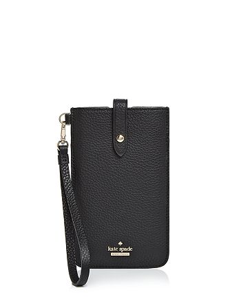 innovative design 90287 00c3b kate spade new york Pebbled-Leather iPhone Sleeve | Bloomingdale's