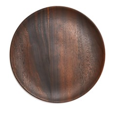 Hudson Park Collection - Wood Charger Plate - 100% Exclusive