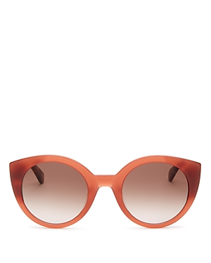 e7c545b598 Kate Spade Norinas 50Mm Cat Eye Sunglasses - Burgundy Havana