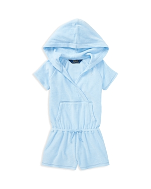 Polo Ralph Lauren Girls Hooded Terry CoverUp  Little Kid