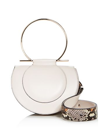 Salvatore Ferragamo - Daphne Convertible Leather Shoulder Bag