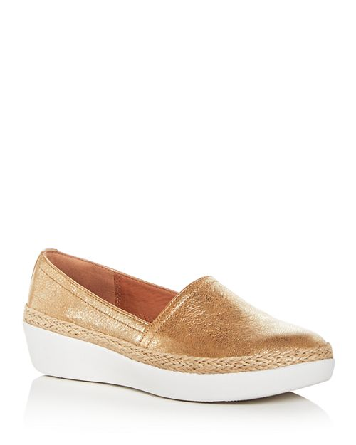 FitFlop - Women's Casa Leather Sneaker Loafers