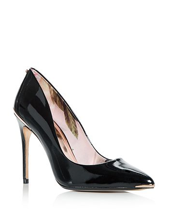 2448c90cb Ted Baker Women s Kaawa Patent Leather Pointed Toe Pumps ...