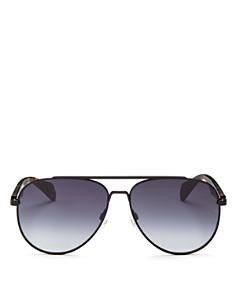 rag & bone - Men's Street Classic Aviator Sunglasses, 65mm
