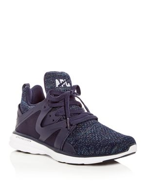 WOMEN'S ASCEND KNIT LACE UP SNEAKERS