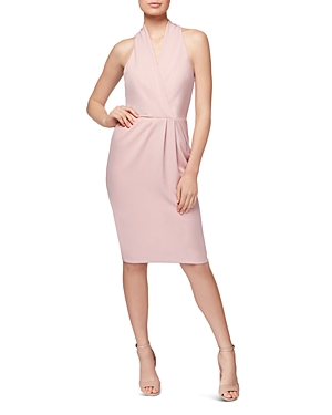 Betsey Johnson Faux-Wrap Dress