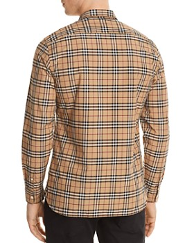Burberry - Alexander Plaid Button-Down Shirt